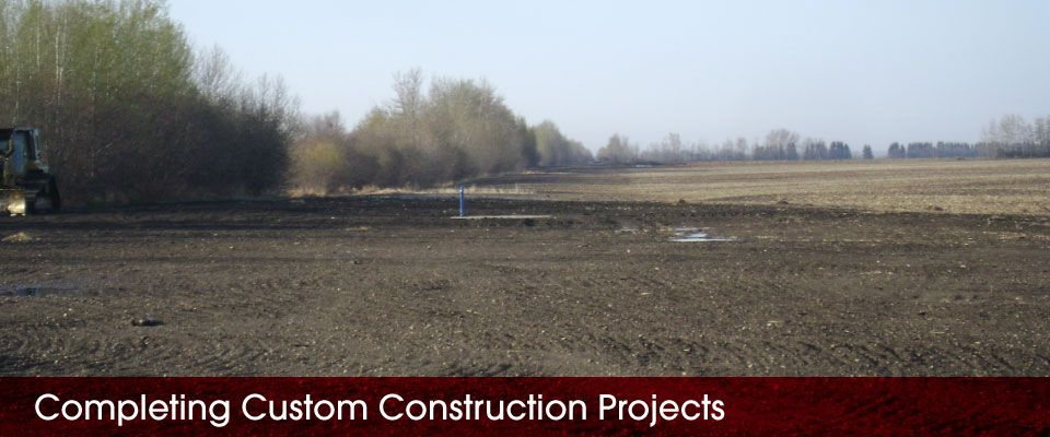 Completing Custom Construction Projects | field