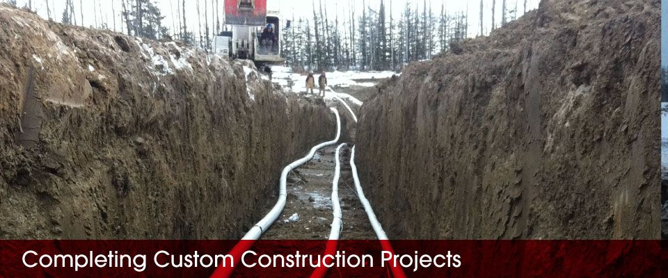 Completing Custom Construction Projects | pipes