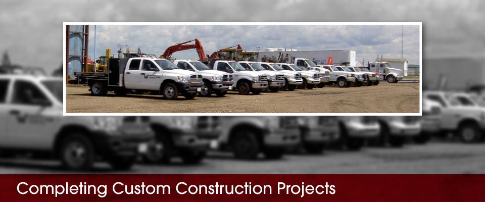 Completing Custom Construction Projects | trucks