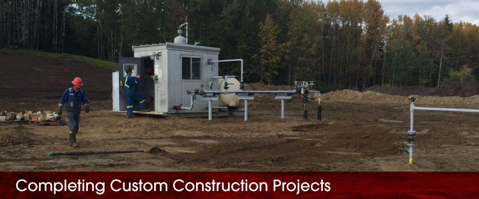 Completing Custom Construction Projects | pipes and office