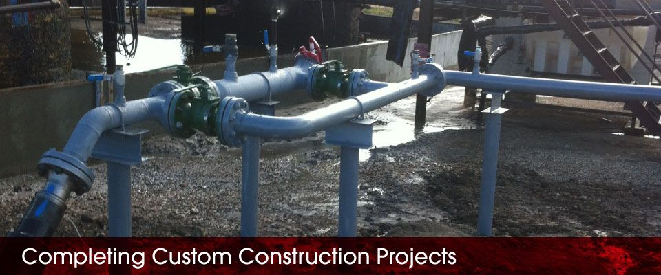 Completing Custom Construction Projects | custom pipework