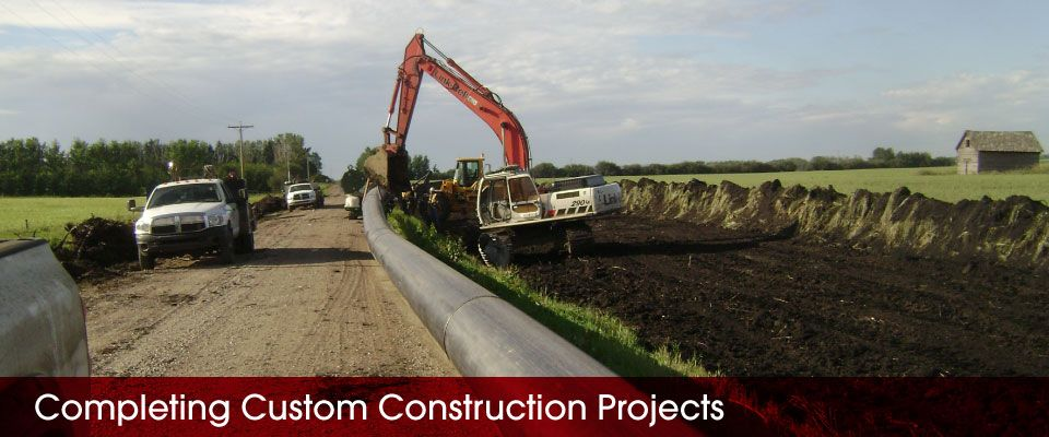 Completing Custom Construction Projects | pipe