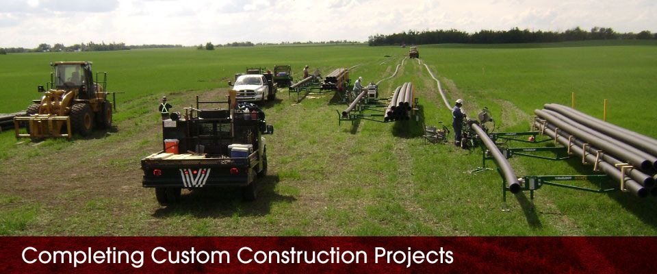 Completing Custom Construction Projects | equipment