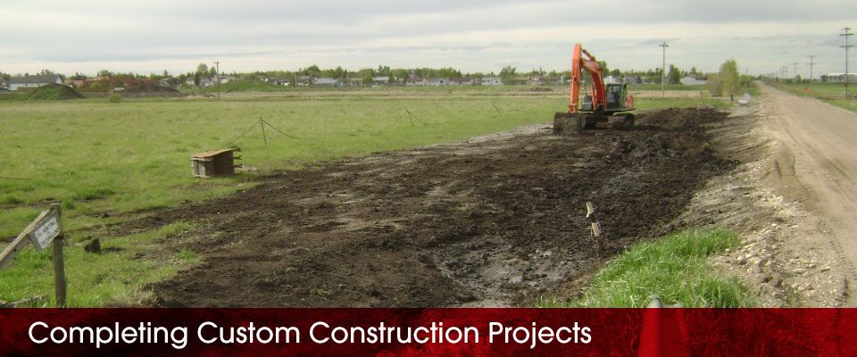 Completing Custom Construction Projects | digging