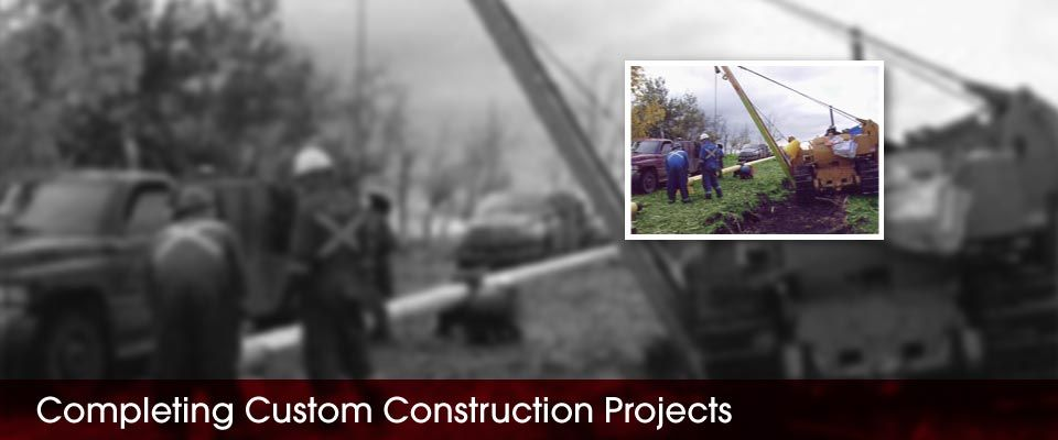 Completing Custom Construction Projects | men working