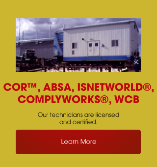 COR™, ABSA, ISNetworld®, ComplyWorks®, WCB | Learn More